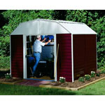 Arrow Red Barn 10'x14' Outdoor Storage Shed
