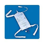 Rochester Medical Latex-Free 600mL Urinary Leg Bags, 4 Per Box