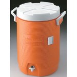 Rubbermaid OranTen Gallon Insulated Water Cooler