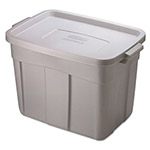 Rubbermaid Roughtote 18 Gallon Storage Box w/Snap-On Lid
