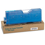 Ricoh Type 155 Toner Cartridge, Cyan