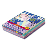 Riverside Paper Assorted Pastel Colored Bond Paper, 8 1/2 x 11, 20 lb., 500 Sheets/Ream