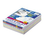 "Riverside Paper Array Asstd Marble Pastel Colored Bond Paper, 8 1/2"" x 11"", 24 lb."