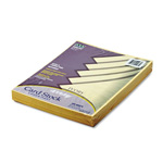 Riverside Paper 65 lb. Card Stock, 8 1/2 x 11, Ivory, 100 Sheets/Pack