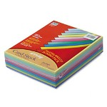 Riverside Paper Array® 65 lb. Card Stock, 8 1/2 x 11, Assorted Colors, 250 Sheets/Pack