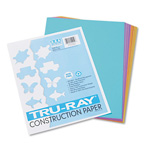 Riverside Paper Bright Construction Paper, 9 x 12, 10 Assorted Colors, 50 Sheet Pack