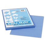 Riverside Paper Construction Paper, 9 x 12 Sheets, Blue, 50 Sheets/Pack