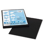 Riverside Paper Tru Ray® Construction Paper, 9 x 12 Sheets, Black, 50 Sheets/Pack
