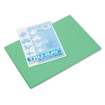 Riverside Paper Recycled Construction Paper, 12 x 18, Festive Green, 50 Sheets/Pack