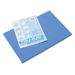 Riverside Paper Recycled Construction Paper, 12 x 18, Blue, 50 Sheets/Pack