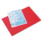 Riverside Paper Recycled Construction Paper, 12 x 18, Festive Red, 50 Sheets/Pack
