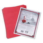 Riverside Paper Construction Paper, 9 x 12, Holiday Red, 50 Sheet Pack