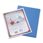 Riverside Paper Construction Paper, 9 x 12, Blue, 50 Sheet Pack
