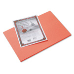 Riverside Paper Construction Paper, 12 x 18, Orange, 50 Sheet Pack