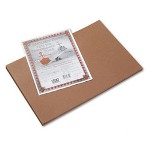 Riverside Paper Construction Paper, 12 x 18, Brown, 50 Sheet Pack