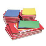 Riverside Paper Combo Construction Paper, 9 x 12 & 12 x 18, 10 Colors, 100 Sheets/Pk
