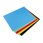 Riverside Paper Colored 4 Ply Poster Board, 22 x 28, 5 Assorted Colors, 25 Boards/Carton
