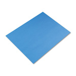 Riverside Paper Colored 4 Ply Poster Board, 22 x 28, Royal Blue, 25 Boards/Carton