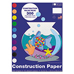 "Roselle Paper Heavyweight Construction Paper, 58 lbs., 9""x12, Assorted"