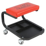 "Rel Products C-Frame Mechanic's Roll Seat with 2"" Casters and Tool Tray"