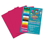Roselle Paper Heavyweight Construction Paper, 58 lbs., 9 x 12, Scarlet, 50 Sheets/Pack