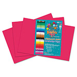 Roselle Paper Heavyweight Construction Paper, 58 lbs., 12 x 18, Scarlet, 50 Sheets/Pack