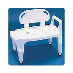 Carex Composite Bathtub Transfer Bench, Up To 350lbs