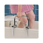 "Carex Bathtub Rail, 11"" W x 1"" D x 8"" H"