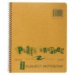 "Roaring Spring Paper Wirebound Notebook, 1 Subject, College Ruled, 8 1/2""x7"""