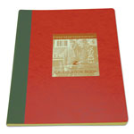 Roaring Spring Paper Section-Sewn Lab Notebook, Quadrille, Red Cover, 11 3/4 x 9 1/4, 76 Shts/Pad