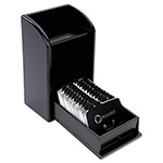 Rolodex Photo Business Card File, Black