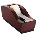 Rolodex Tape Dispenser, Mahogany