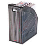 Rolodex Wire Mesh Jumbo Magazine File, Black, 10w x 12 1/2d x 5 7/8h