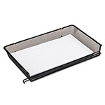 Rolodex Wire Mesh Self Stacking Side Load Legal Tray, Black