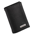 Eldon 36-Card Capacity Low Profile Personal Card Case, 2 3/4 x 4, Black