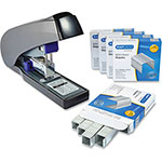 "Rapesco Stapler Set, Less Effort, 8-3/5"" x 12-1/5"" x 2-1/2"", MI"
