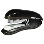 Rapid F30 Flat Clinch Half Strip Stapler, 30-Sheet Capacity, Black