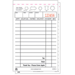Royal   Guest Check Book, Carbonless Duplicate, 50/Book