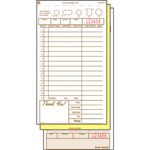 "Royal   Guest Check Book, Carbonless Triplicate, 4 1/5""x8 1/2"", Case of 10"