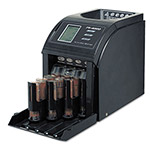 Royal Sovereign International Fast Sort FS-4000 Digital Coin Sorter, Pennies Through Quarters