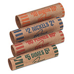 Royal Sovereign International Preformed Kraft Paper Coin Wrappers