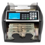 Royal Sovereign International Electric Bill Counter w/Counterfeit Detection, 900-1400 Bills/Min, Black/Silver