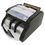 "Royal Sovereign International Portable Electric Bill Counter, 1000 Bills/Min., 9""W x 11""D x 6""H, Black/Silver"