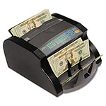 "Royal Sovereign International Electric Bill Counter, 1000 Bills/Min., 10.63""W x 9.45""D x 6.1""H, Black/Gray"