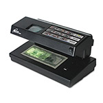 "Royal Sovereign International Counterfeit Detector, Compact/Portable, 11"" x 6"" x 6"", Black"