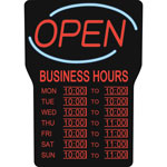 Royal Sovereign International Open Sigh, w/Business Hours, 40.6x61cm, English