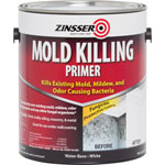 Rust-Oleum Mold Killing Primer, Interior/Exterior, 1 Gallon, White