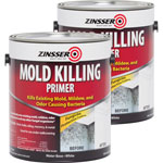 Rust-Oleum Mold Killing Primer, Interior/Exterior, 1 Gallon, 2/CT