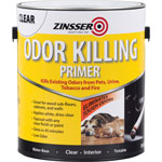 Rust-Oleum Odor Killing Primer, Water-Based, Low-Odor, 1 Gallon, Clear