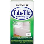Rust-Oleum Tub/Tile Refinishing Kit, Epoxy Acrylic, 32 oz./KT, White